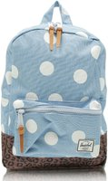 Herschel Settlement Kids Backpack chambray/white polka dot/leopard