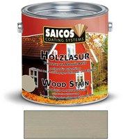 Saicos Holzlasur 2,5 l felsengrau