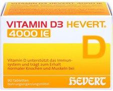 Hevert Vitamin D3 Hevert 4.000 I.E. Tabletten (90 Stk.)