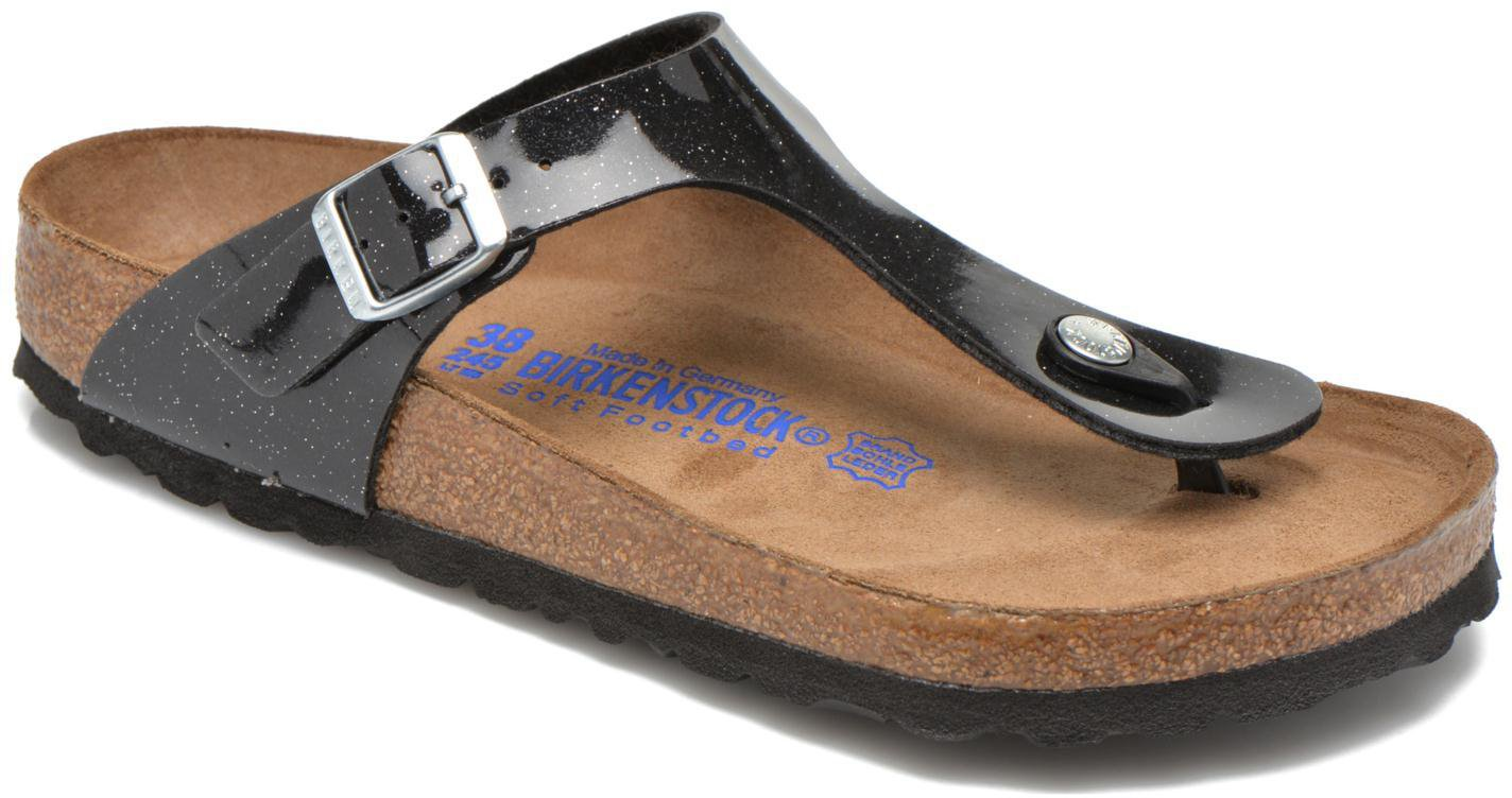 14739d5df1552f Birkenstock Gizeh Birko-Flor magic galaxy black günstig kaufen