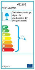 Albert Leuchten Wandstrahler 682193