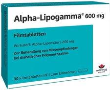 Wörwag Alpha Lipogamma 600 mg Filmtabletten (30 Stk.)