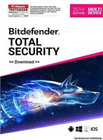 BitDefender Bitdefender Total Security Multi-Device 2016 (3 Geräte) (1 Jahr)