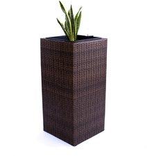 Eleganteinrichten Übertopf Polyratten Säule (30x30x80cm)