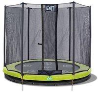 Exit Trampolin Twist Ground 366 cm mit Sicherheitsnetz grün / grau
