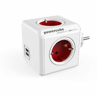 Allocacoc PowerCube Original USB Type F rot