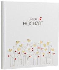 Goldbuch Hochzeitsalbum Golden Hearts 30x31/60