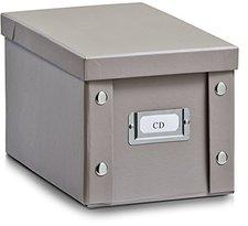 Zeller CD-Box  16,5 x28 x15cm taupe (17660)