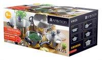 Ambition Kitchen Vikos Topfset 9-teilig (68869)