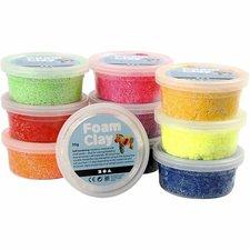 Creativ Company Foam Clay Sortiment Basic 10x35g