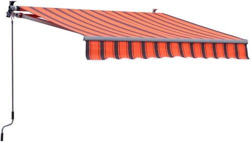 Grasekamp Markise orange-braun, 200x150cm
