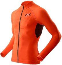 X-Bionic X-Bionic The Trick Biking Shirt Long Sleeves Full Zip Men orange sunshine / black