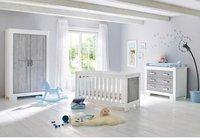 Pinolino Kinderzimmer Lolle (Wickelkommode breit) (Kleiderschrank 2-trg.)