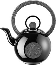 Rosenthal meets Versace La Medusa black  Teekanne 2 Pers.