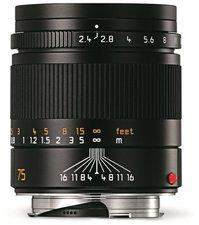 Leica Summarit-M 75mm f2.4 (schwarz)