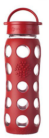 lifefactory Classic Glas-Trinkflasche (650 ml)