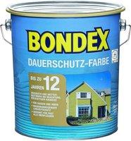 Bondex Dauerschutz-Farbe Schneeweiß 4,00 l
