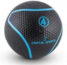 Capital Sports Rotunder Medizinball Gummi schwarz 4kg