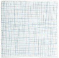 Rosenthal Mesh Teller quadr. line aqua 22 cm
