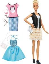 Mattel Barbie Fashionistas Leather Ruffles & Fashions