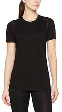 Ortovox Merino Supersoft 210 Short Sleeve Women black raven