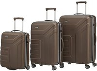 Travelite Vector 2.0 Trolley-Set 55/70/77 cm brown