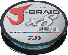 Daiwa J-Braid X8 multi color 300m 0,16mm