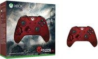Microsoft Xbox One S Wireless Controller - Gears of War 4 Crimson Omen Limited Edition
