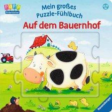 Ravensburger Mein großes Puzzle-Fühlbuch - Auf dem Bauernhof