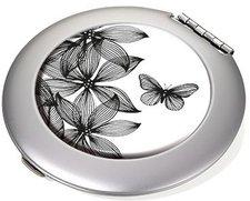 Troika Taschenspiegel Black Flowers