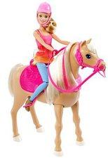 Mattel Barbie Die große Hundesuche Tanzspaß Pferd und Puppe (DMC30)