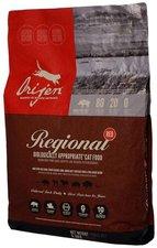 Orijen Regional Red Katzentrockenfutter (2,27 kg)