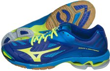 Mizuno Wave Lightning Z2 diva blue/safety yellow/surf the web