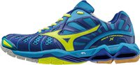Mizuno Wave Tornado X diva blue/neon yellow/surf the web
