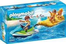 Playmobil Family Fun Jetski mit Bananenboot (6980)
