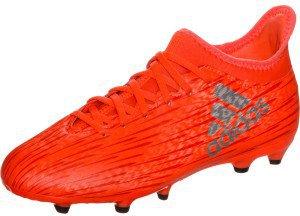 Adidas X 16.3 FG Jr solar red/silver metallic/hi-res red