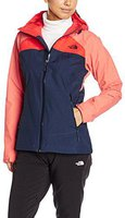 The North Face Damen Stratos Jacke Urban Navy/ Spiced Coral/ High Risk Red