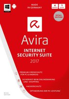 Avira Internet Security Suite 2017 (4 Geräte) (1 Jahr)