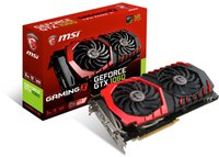 MSI GeForce GTX 1060 Gaming X 3072MB GDDR5