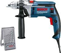 Bosch GSB 16 RE Professional (3 tlg. Bohrer-Set)