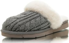 UGG Cozy Knit Cable heathered grey