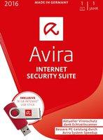 Avira Internet Security Suite 2016 (1 Gerät) (1 Jahr) (Box) USB-Stick Bundle