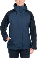 Jack Wolfskin Altiplano Jacket Women Dark Sky