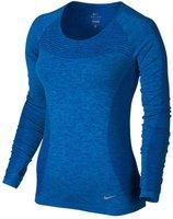Nike Dri-Fit Knit Damen-Laufoberteil (718582) blau