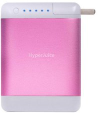 Sanho Hyperjuice Plug 15600 mAh Pink