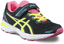 Asics Gt-1000 5 PS black/safety yellow/pink glow