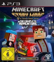 Minecraft: Story Mode - A Telltale Games Series - The Complete Adventure (PS3)