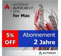 Autodesk AutoCAD LT 2016 (Mac) (2 Jahre)