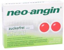 Pharma Gerke Neo-Angin Zuckerfrei Halstabletten (24 Stk.)