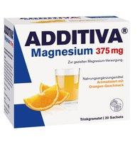 Scheffler Additiva Magnesium 375 mg Granulat Orange (20 Stk.)